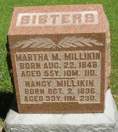MILLIKIN, NANCY - Montgomery County, Ohio | NANCY MILLIKIN - Ohio Gravestone Photos