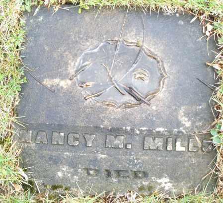 MILLS, NANCY M. - Montgomery County, Ohio   NANCY M. MILLS - Ohio Gravestone Photos