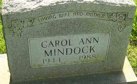 MINDOCK, CAROL ANN - Montgomery County, Ohio | CAROL ANN MINDOCK - Ohio Gravestone Photos