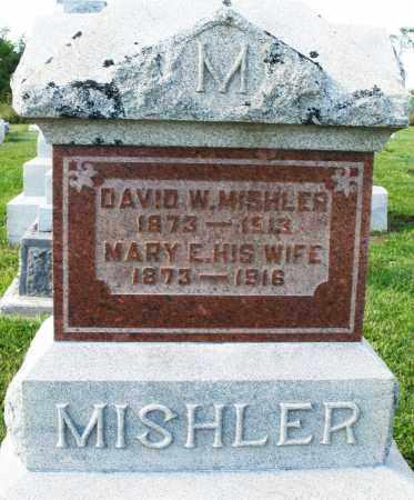 MISHLER, DAVID W. - Montgomery County, Ohio | DAVID W. MISHLER - Ohio Gravestone Photos