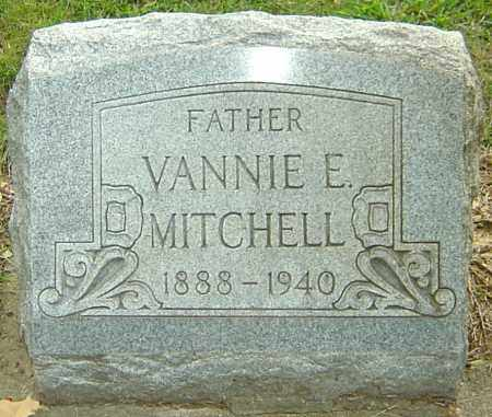 MITCHELL, VANNIE ELBERT - Montgomery County, Ohio | VANNIE ELBERT MITCHELL - Ohio Gravestone Photos
