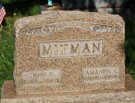 MITMAN, AMANDA A. - Montgomery County, Ohio | AMANDA A. MITMAN - Ohio Gravestone Photos