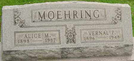 MOEHRING, VERNAL P - Montgomery County, Ohio | VERNAL P MOEHRING - Ohio Gravestone Photos
