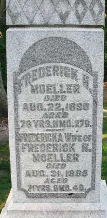 MOELLER, FREDERICKA - Montgomery County, Ohio | FREDERICKA MOELLER - Ohio Gravestone Photos