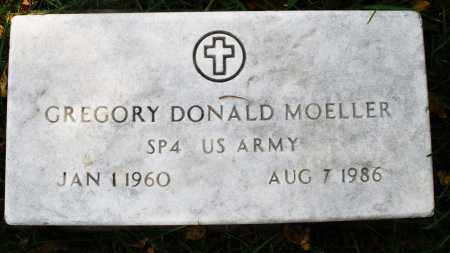 MOELLER, GREGORY DONALD - Montgomery County, Ohio | GREGORY DONALD MOELLER - Ohio Gravestone Photos