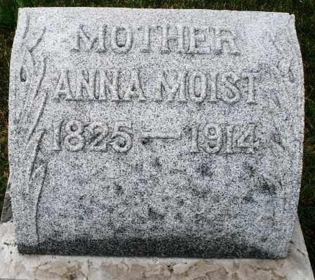 MOIST, ANNA - Montgomery County, Ohio | ANNA MOIST - Ohio Gravestone Photos