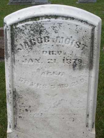 MOIST, JACOB - Montgomery County, Ohio | JACOB MOIST - Ohio Gravestone Photos