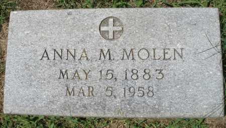 MOLEN, ANNA M. - Montgomery County, Ohio | ANNA M. MOLEN - Ohio Gravestone Photos