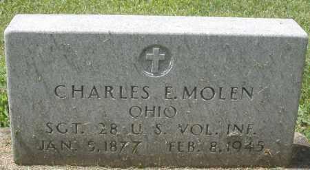 MOLEN, CHARLES E. - Montgomery County, Ohio | CHARLES E. MOLEN - Ohio Gravestone Photos