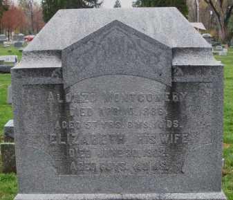 MONTGOMERY, ALONZO - Montgomery County, Ohio | ALONZO MONTGOMERY - Ohio Gravestone Photos