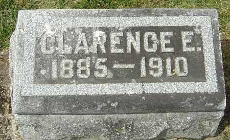 MONTGOMERY, CLARENCE E - Montgomery County, Ohio | CLARENCE E MONTGOMERY - Ohio Gravestone Photos