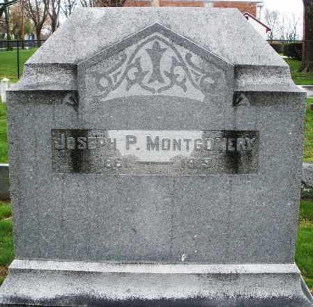 MONTGOMERY, JOSEPH P. - Montgomery County, Ohio | JOSEPH P. MONTGOMERY - Ohio Gravestone Photos