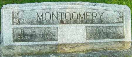 MONTGOMERY, JULIA ANN - Montgomery County, Ohio | JULIA ANN MONTGOMERY - Ohio Gravestone Photos