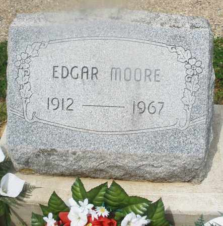 MOORE, EDGAR - Montgomery County, Ohio | EDGAR MOORE - Ohio Gravestone Photos