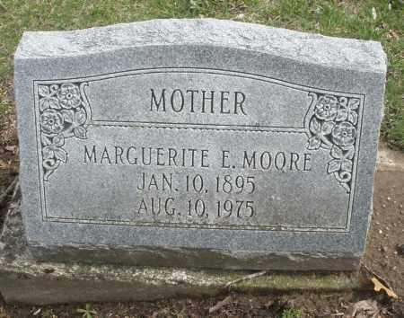 MOORE, MARGUERITE E. - Montgomery County, Ohio | MARGUERITE E. MOORE - Ohio Gravestone Photos