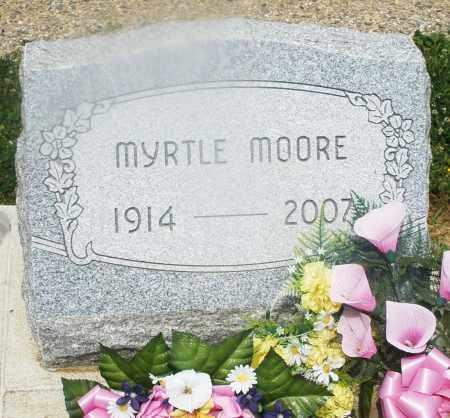 MOORE, MYRTLE - Montgomery County, Ohio | MYRTLE MOORE - Ohio Gravestone Photos
