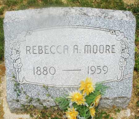 MOORE, REBECCA A. - Montgomery County, Ohio | REBECCA A. MOORE - Ohio Gravestone Photos
