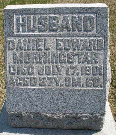 MORNINGSTAR, DANIEL EDWARD - Montgomery County, Ohio | DANIEL EDWARD MORNINGSTAR - Ohio Gravestone Photos