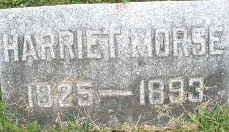 MORSE, HARRIET - Montgomery County, Ohio | HARRIET MORSE - Ohio Gravestone Photos