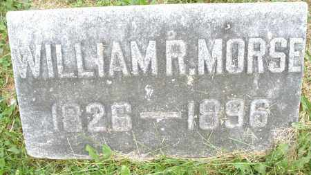 MORSE, WILLIAM R. - Montgomery County, Ohio | WILLIAM R. MORSE - Ohio Gravestone Photos