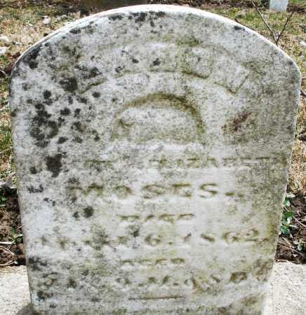 MOSES, AARON - Montgomery County, Ohio | AARON MOSES - Ohio Gravestone Photos