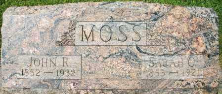 MOSS, SARAH C. - Montgomery County, Ohio | SARAH C. MOSS - Ohio Gravestone Photos