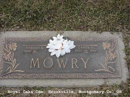 WHEELER MOWRY, CAROL - Montgomery County, Ohio | CAROL WHEELER MOWRY - Ohio Gravestone Photos
