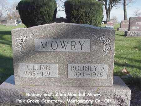 MOWRY, LILLIAN - Montgomery County, Ohio | LILLIAN MOWRY - Ohio Gravestone Photos