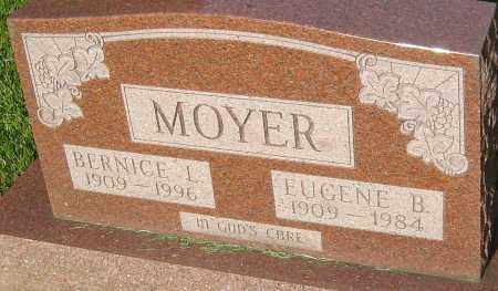 MOYER, BERNICE L - Montgomery County, Ohio | BERNICE L MOYER - Ohio Gravestone Photos