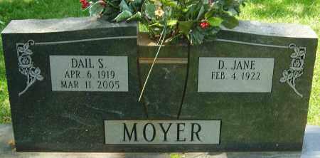 MOYER, DAIL S - Montgomery County, Ohio | DAIL S MOYER - Ohio Gravestone Photos