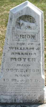 MOYER, ORION - Montgomery County, Ohio | ORION MOYER - Ohio Gravestone Photos