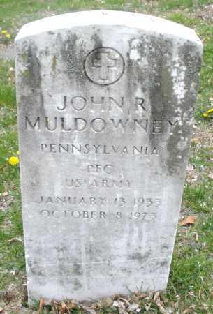 MULDOWNEY, JOHN  R. - Montgomery County, Ohio | JOHN  R. MULDOWNEY - Ohio Gravestone Photos