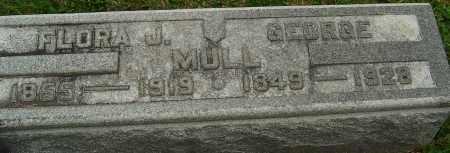 KELSEY MULL, FLORA JENETTE - Montgomery County, Ohio | FLORA JENETTE KELSEY MULL - Ohio Gravestone Photos