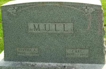 MULL, JOHN CARL - Montgomery County, Ohio | JOHN CARL MULL - Ohio Gravestone Photos