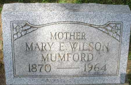 MUMFORD, MARY E. - Montgomery County, Ohio | MARY E. MUMFORD - Ohio Gravestone Photos