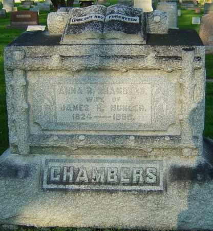MUNGER, ANNA R CHAMBERS - Montgomery County, Ohio | ANNA R CHAMBERS MUNGER - Ohio Gravestone Photos