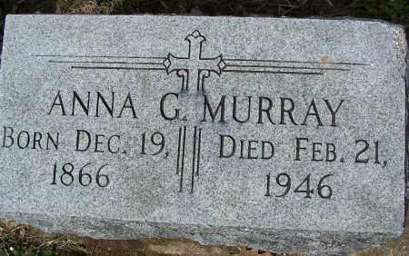 MURRAY, ANNA G - Montgomery County, Ohio | ANNA G MURRAY - Ohio Gravestone Photos