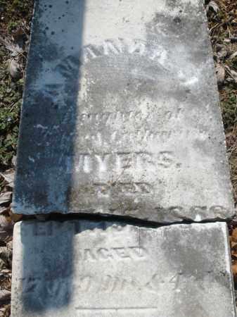 MYERS, AMANDA J. - Montgomery County, Ohio | AMANDA J. MYERS - Ohio Gravestone Photos