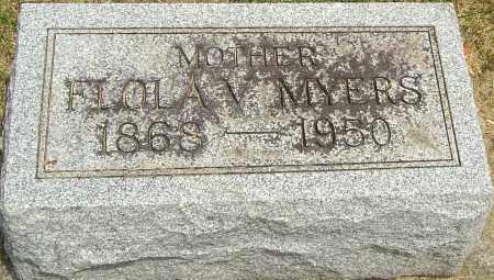 MYERS, FLOLA V - Montgomery County, Ohio | FLOLA V MYERS - Ohio Gravestone Photos
