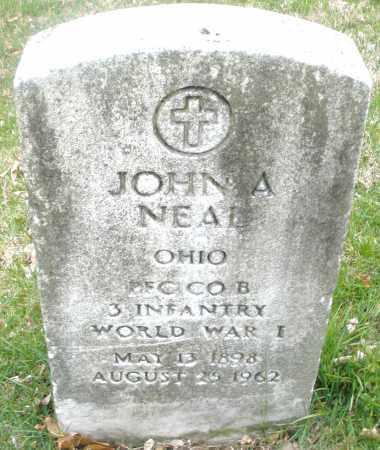 NEAL, JOHN A. - Montgomery County, Ohio | JOHN A. NEAL - Ohio Gravestone Photos