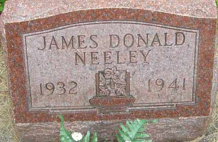 NEELEY, JAMES DONALD - Montgomery County, Ohio   JAMES DONALD NEELEY - Ohio Gravestone Photos