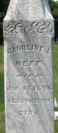 NEFF, CAROLINE L. - Montgomery County, Ohio | CAROLINE L. NEFF - Ohio Gravestone Photos