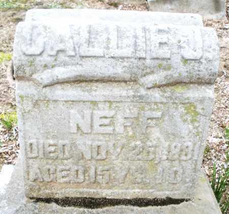 NEFF, CALLIE J. - Montgomery County, Ohio | CALLIE J. NEFF - Ohio Gravestone Photos