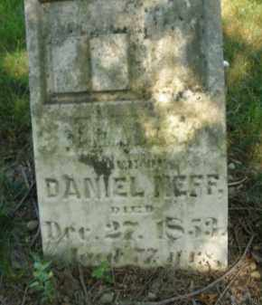 NEFF, DANIEL - Montgomery County, Ohio | DANIEL NEFF - Ohio Gravestone Photos