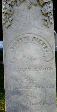 NEFF, JOHN - Montgomery County, Ohio | JOHN NEFF - Ohio Gravestone Photos