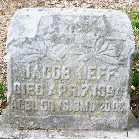 NEFF, JACOB - Montgomery County, Ohio | JACOB NEFF - Ohio Gravestone Photos