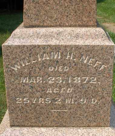 NEFF, WILLIAM H. - Montgomery County, Ohio | WILLIAM H. NEFF - Ohio Gravestone Photos