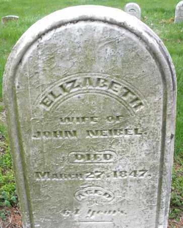 NEIBEL, ELIZABETH - Montgomery County, Ohio | ELIZABETH NEIBEL - Ohio Gravestone Photos