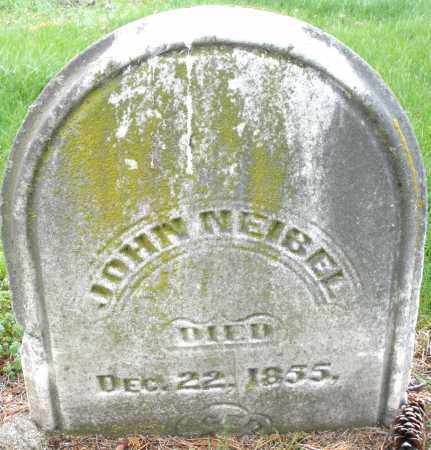 NEIBEL, JOHN - Montgomery County, Ohio | JOHN NEIBEL - Ohio Gravestone Photos