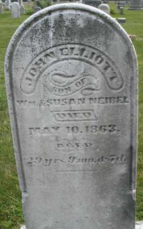 NEIBEL, JOHN ELLIOTT - Montgomery County, Ohio | JOHN ELLIOTT NEIBEL - Ohio Gravestone Photos